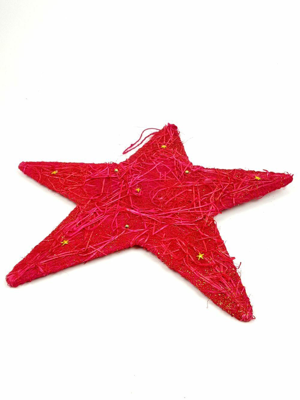 Csillag alap 40cm-PIROS