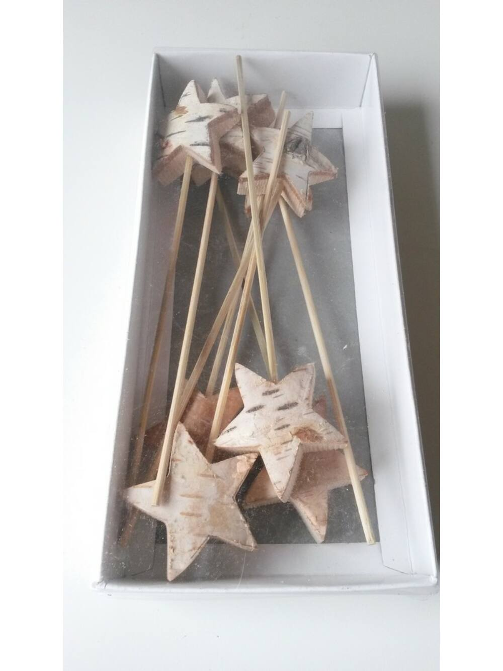 Vastag nyírfa csillag betűző