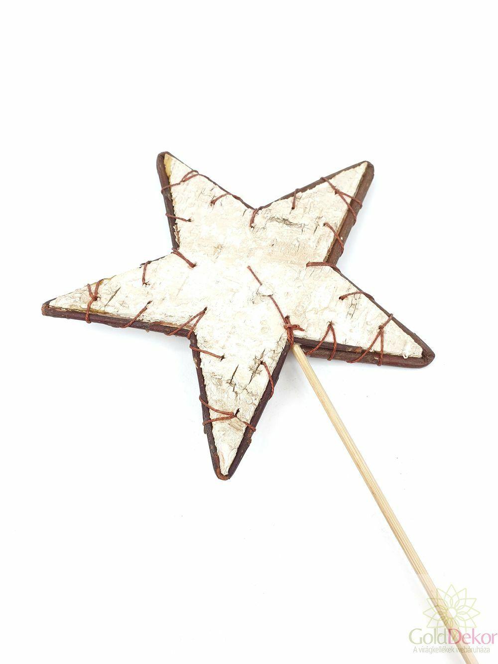 Nyírfa csillag betűző nagy