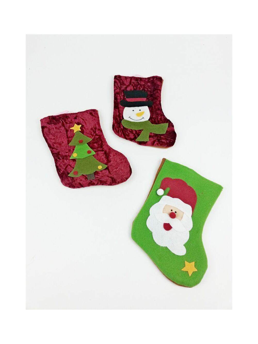 Karácsonyi zokni nagy