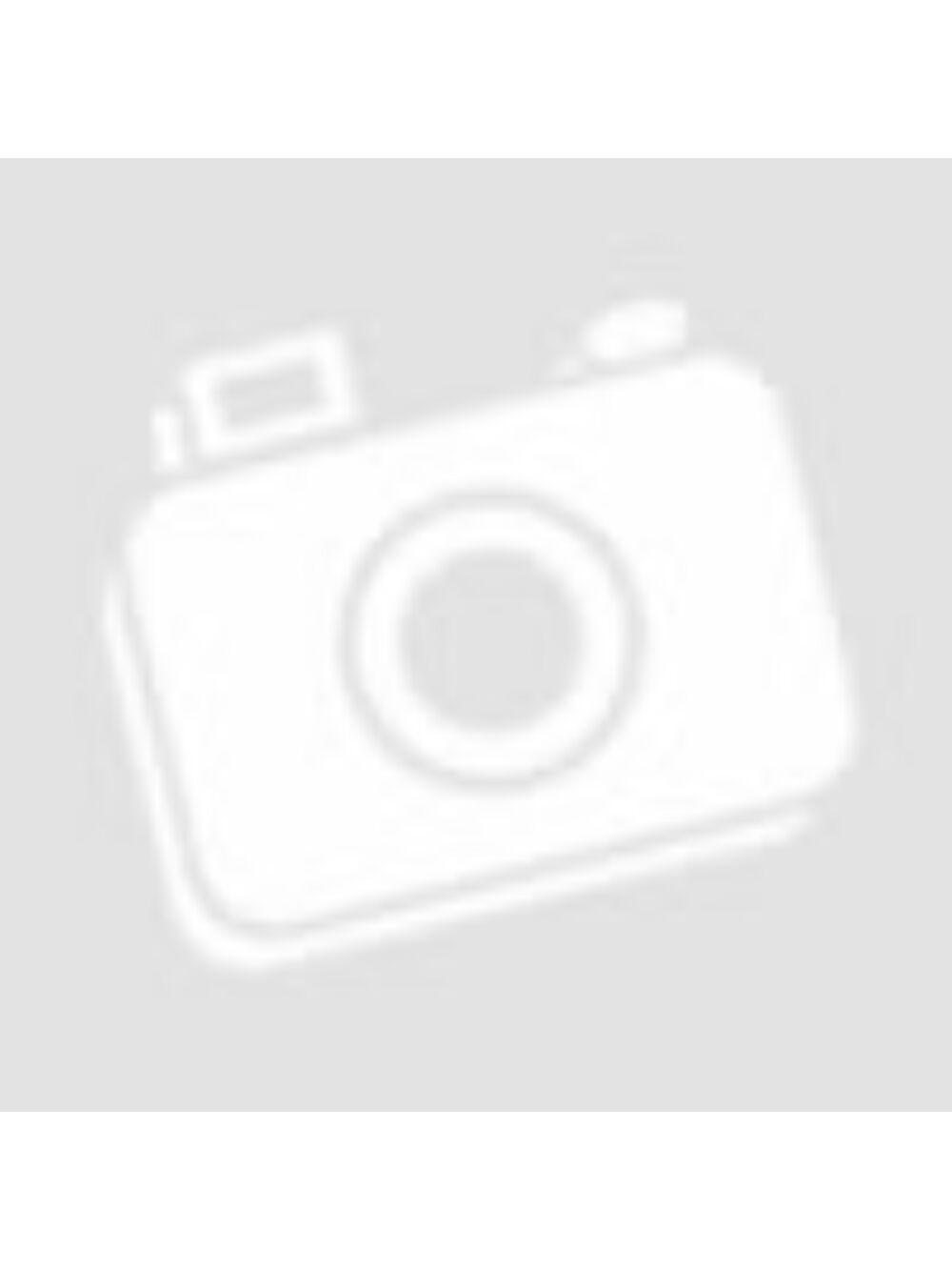 Akasztós csipkézett fa szív - Barna