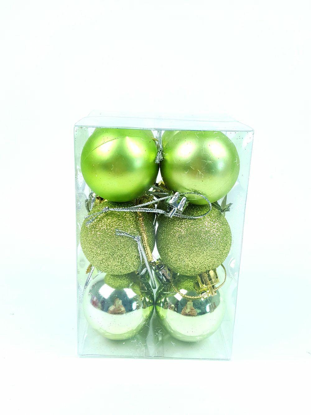 Kari gömb mix 4 cm *12 - Zöld