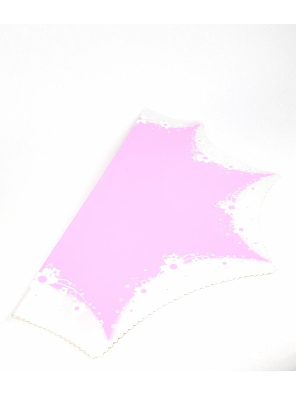 Színes virág fólia 8 ágú - Élénk Rózsaszín