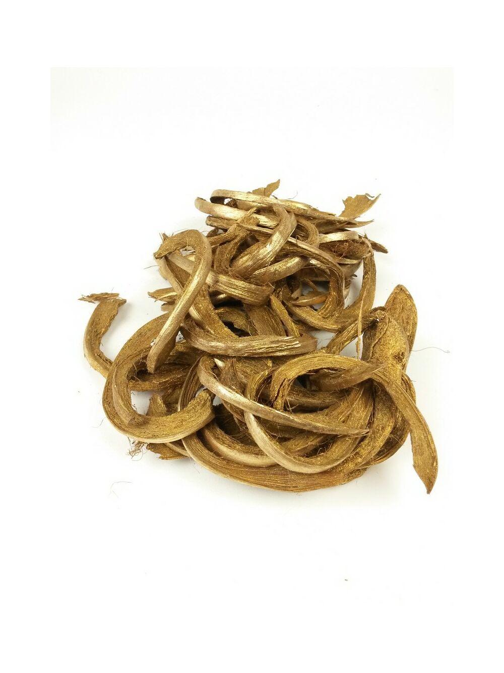 Kókusz héj szelet - arany