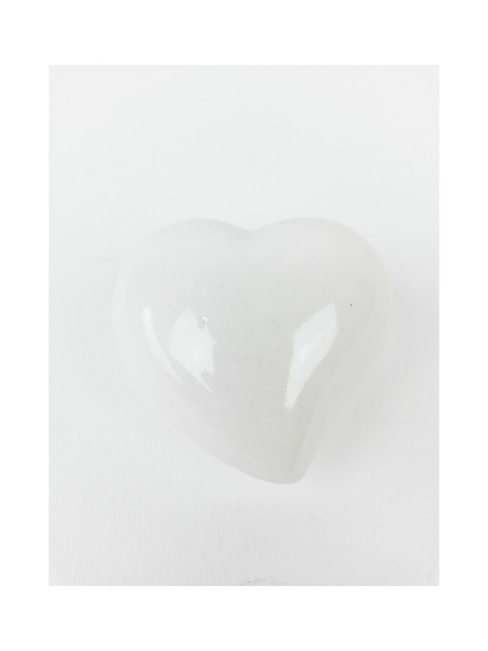 Kerámia szív féloldalas