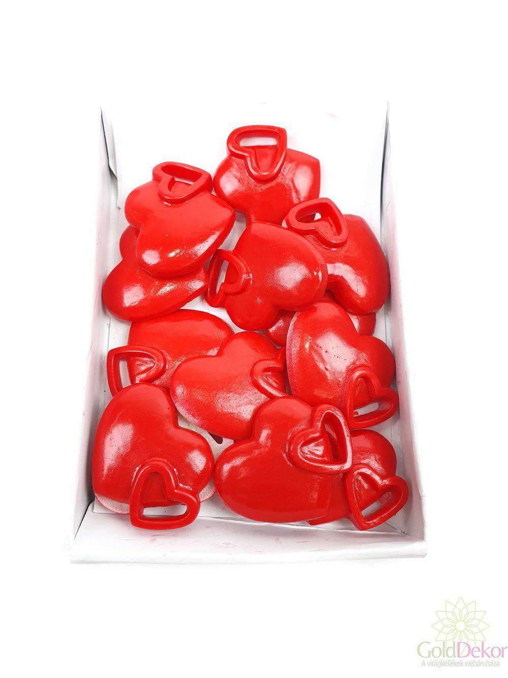 Öntapi szív - páros