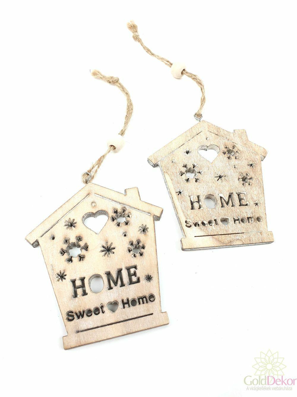 Hópelyhes fa sweet home házikó