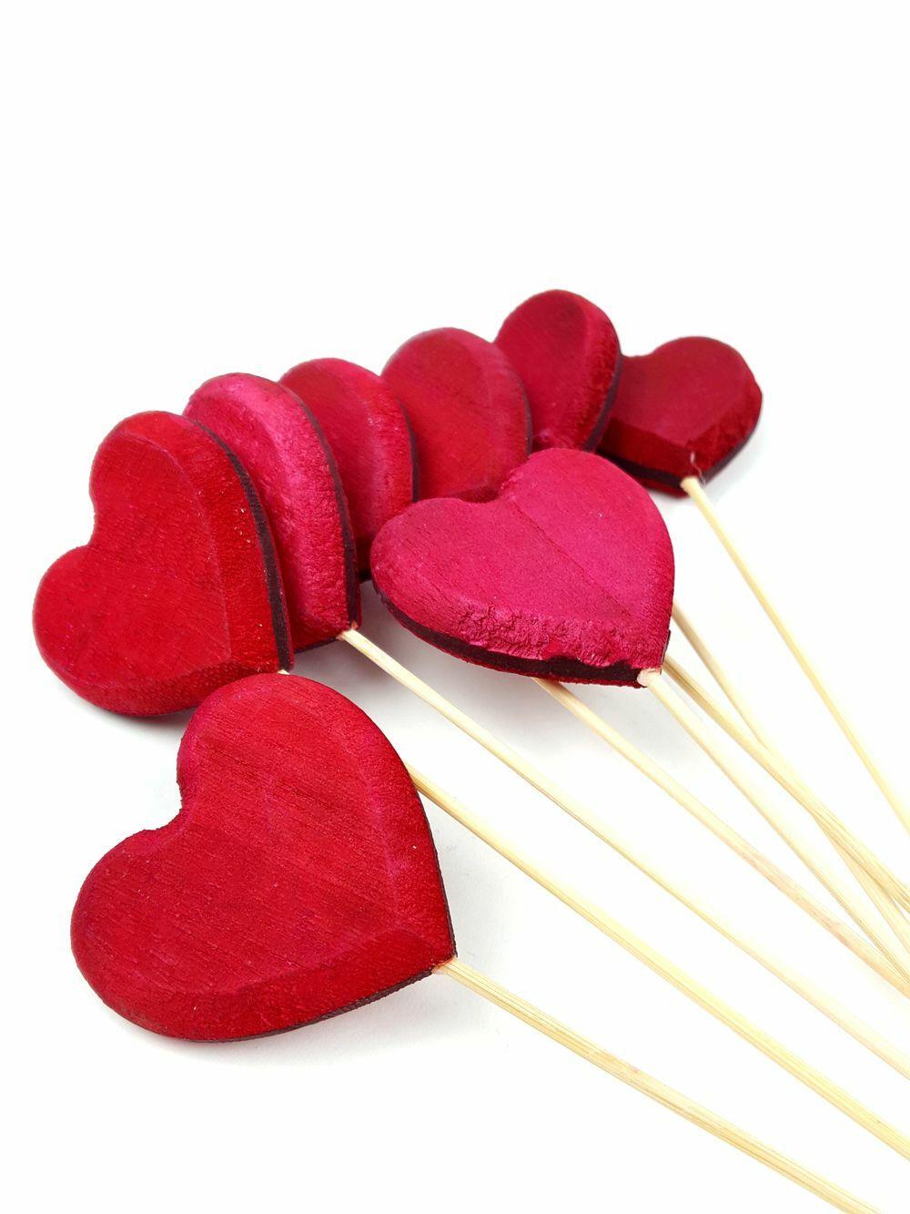 Faragott szív betűző piros