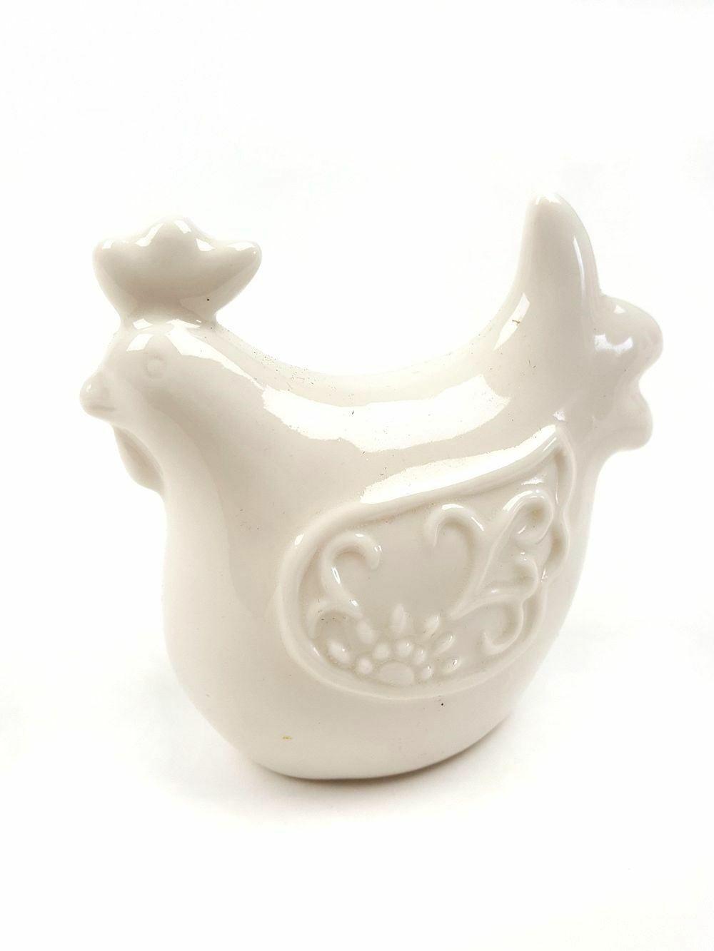Porcelán tyúk nagy