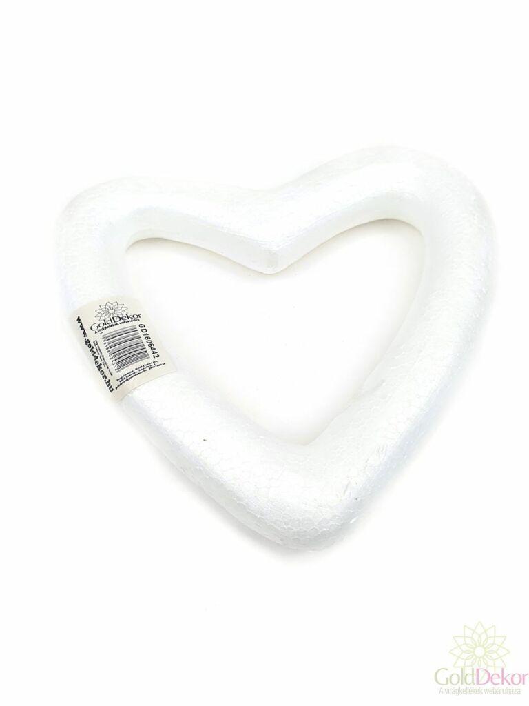 Hungarocell alap - Szív 19cm