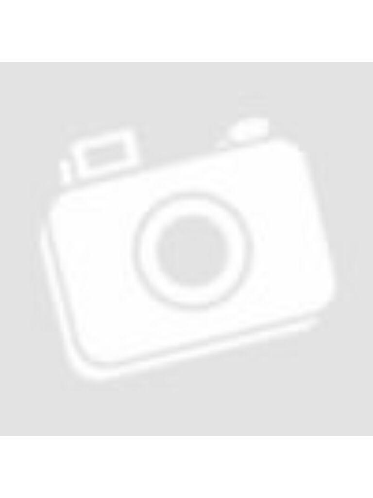 Bőrfüles bádog kaspó - Fehér