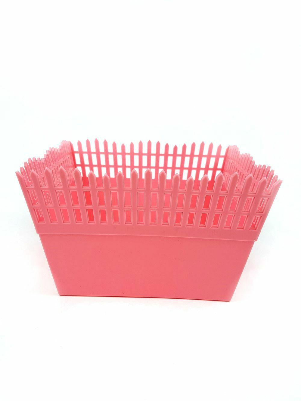 e4eb2951ed37 Műanyag láda kerítés - Rózsaszín - Egyéb - Gold Dekor ...