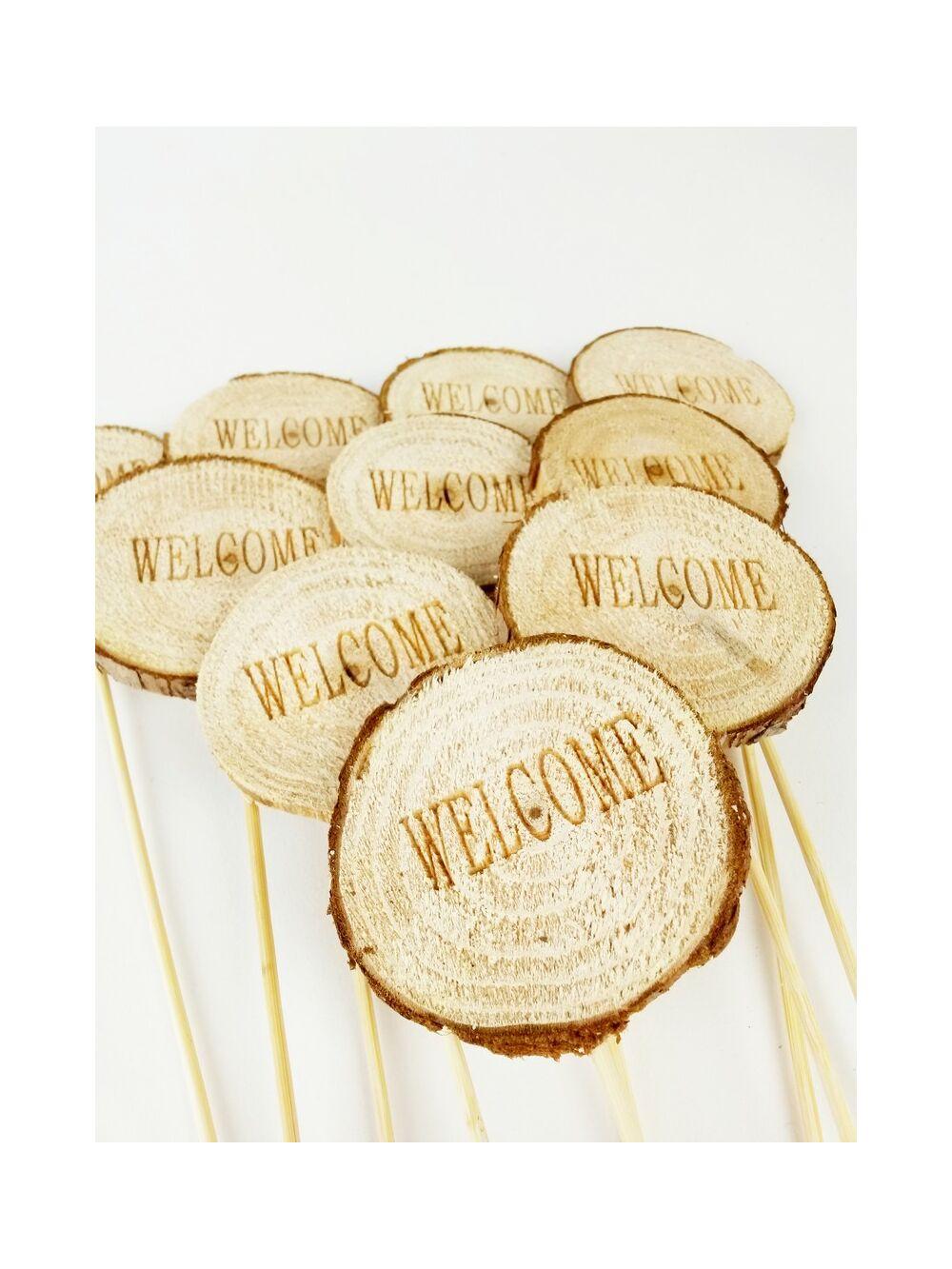 Fa korong betűzők - Welcome