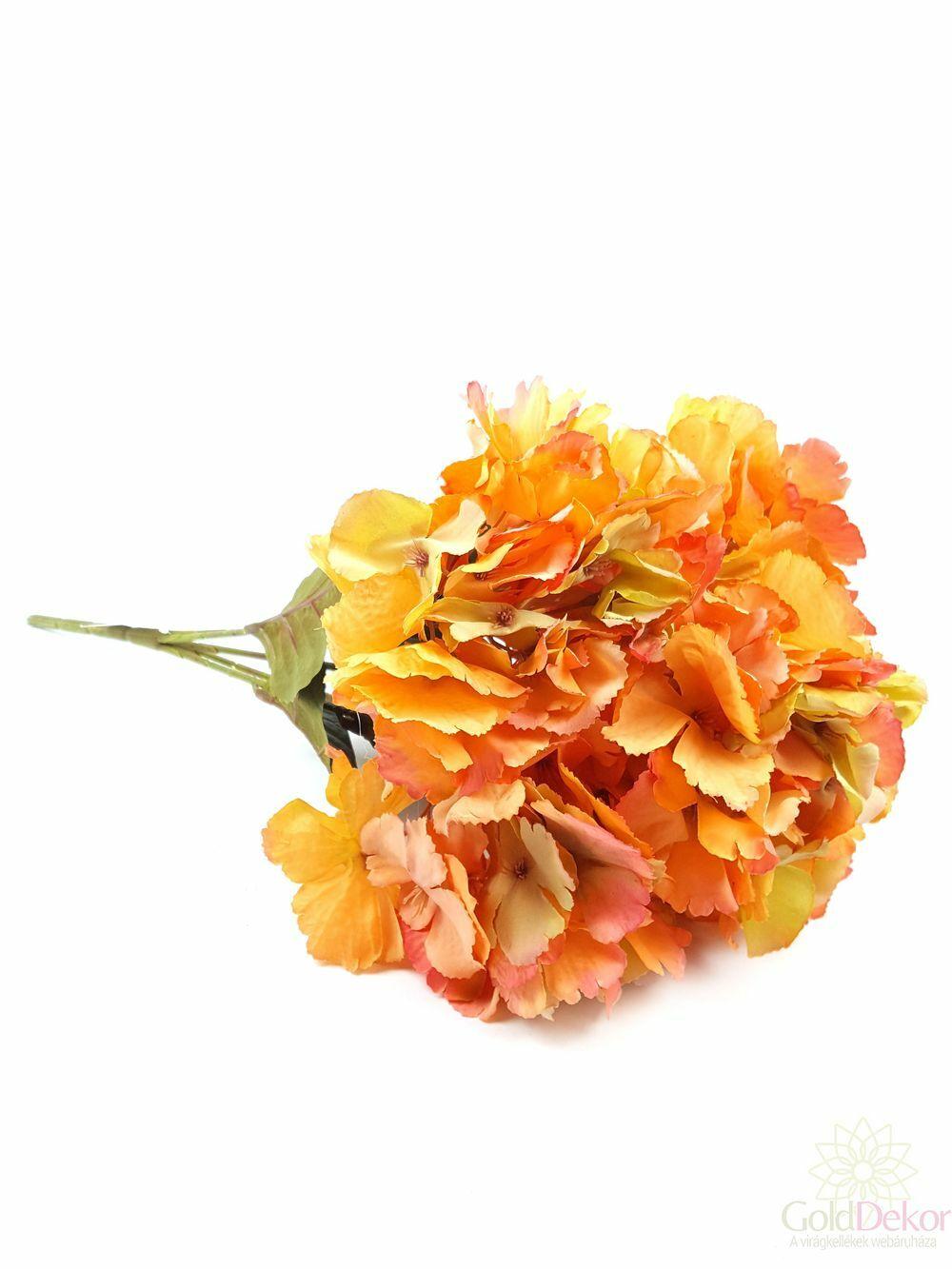Nagy antik hortenzia bokor - Narancs