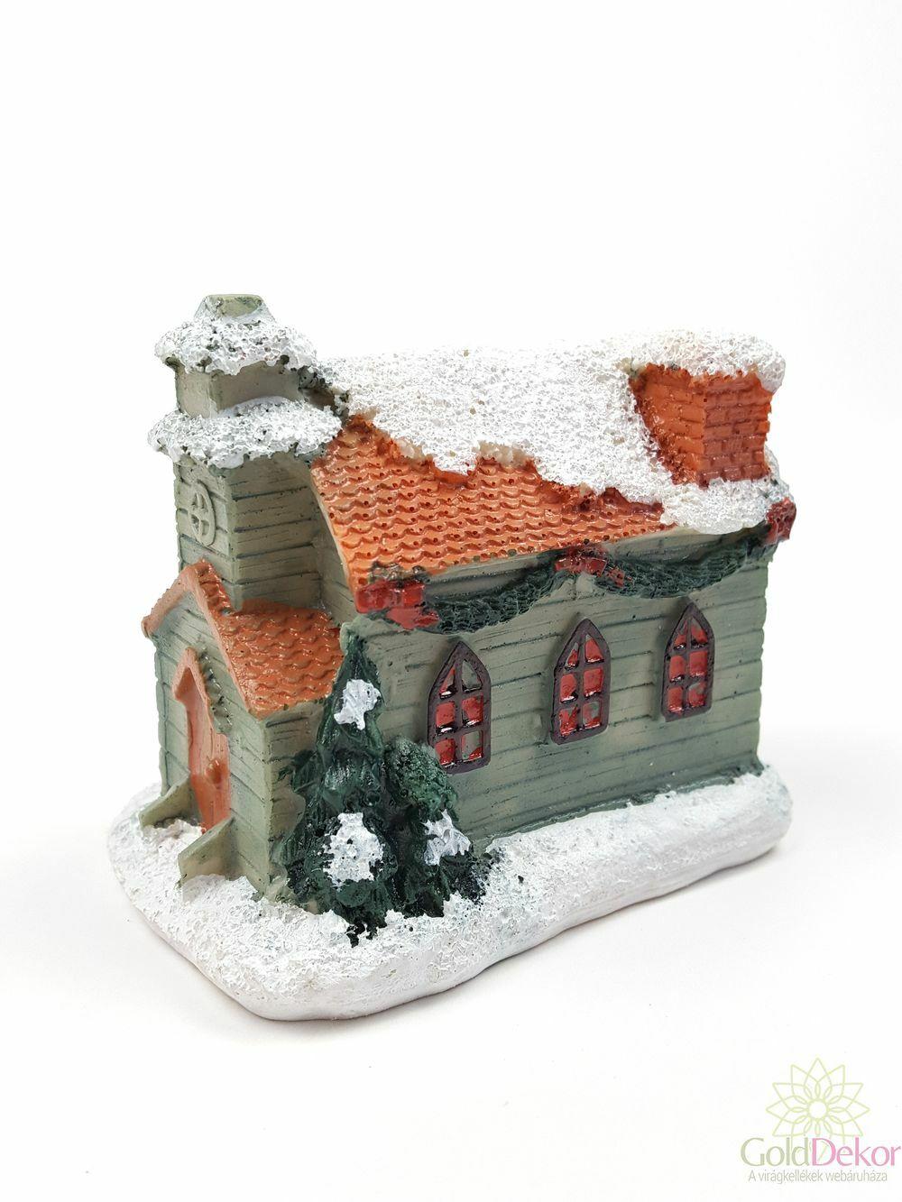 Karácsonyi házikó közepes 4