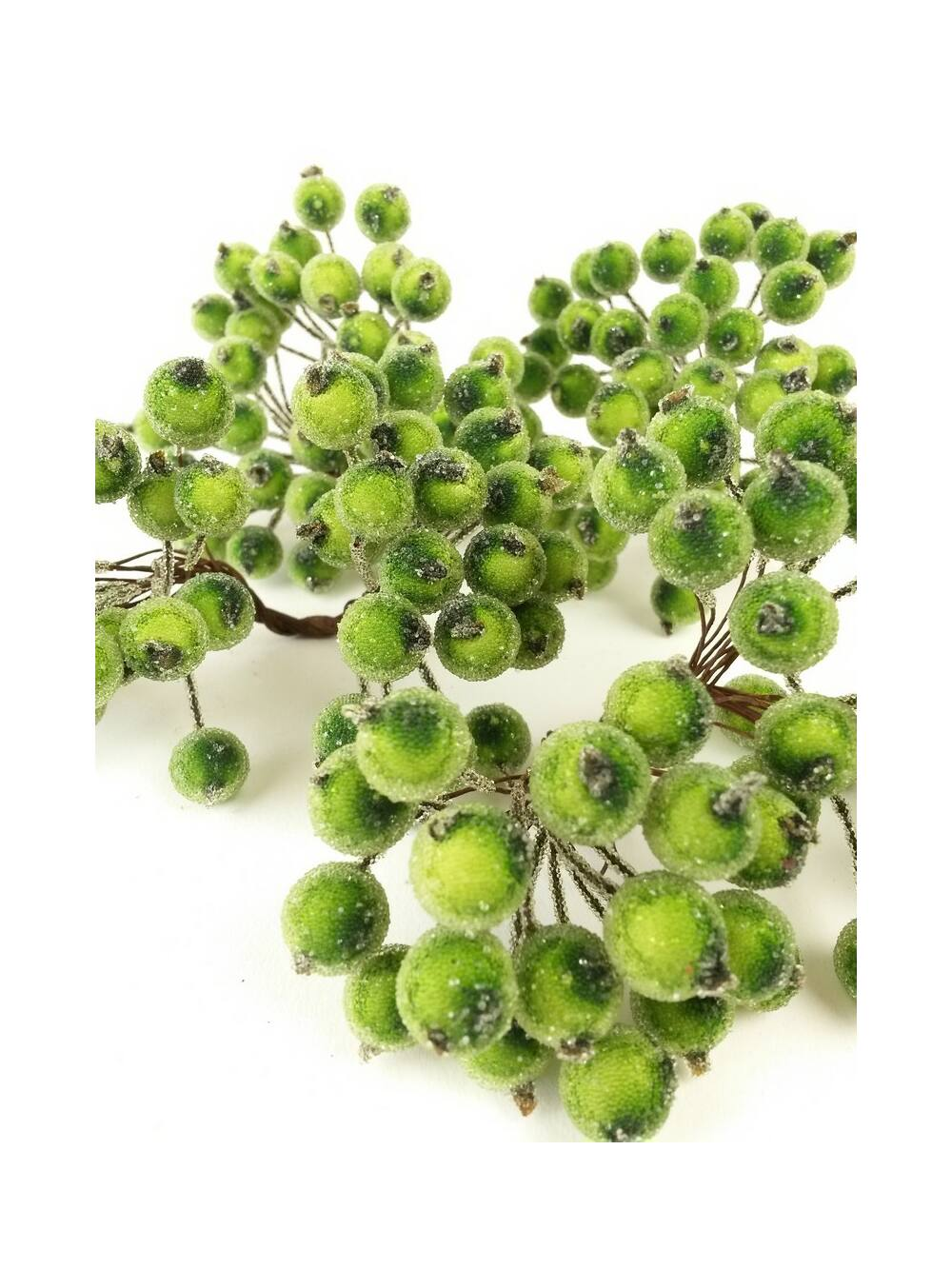 Csillámos drótos bogyó - Zöld