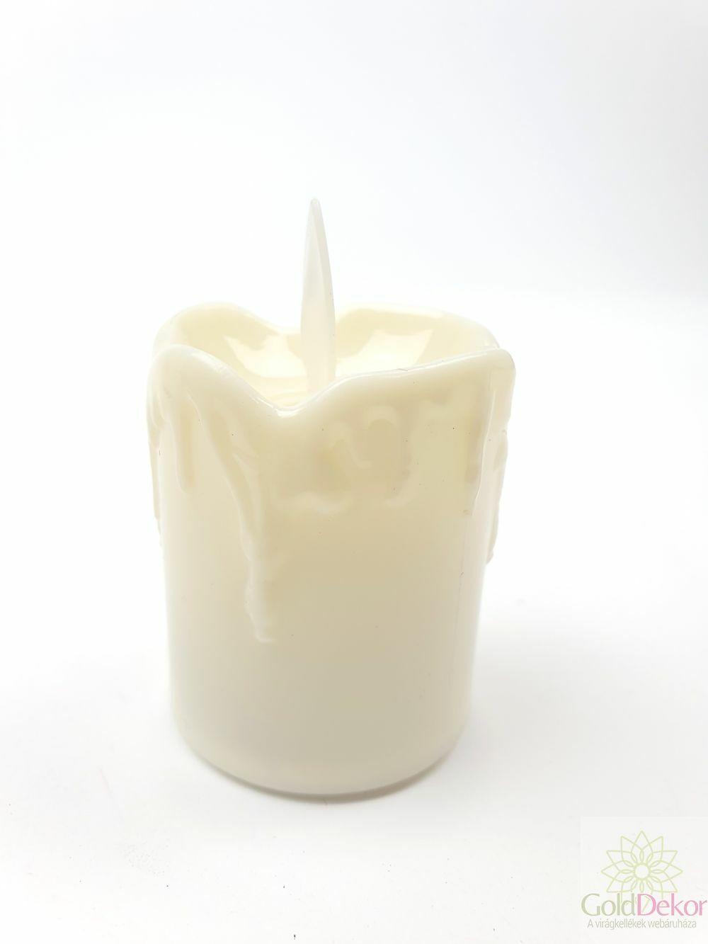 Led gyertya mozgó 5 cm