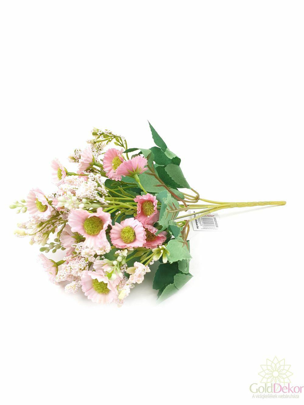 Vegyes színű kicsi csokor 38 - Rózsaszín