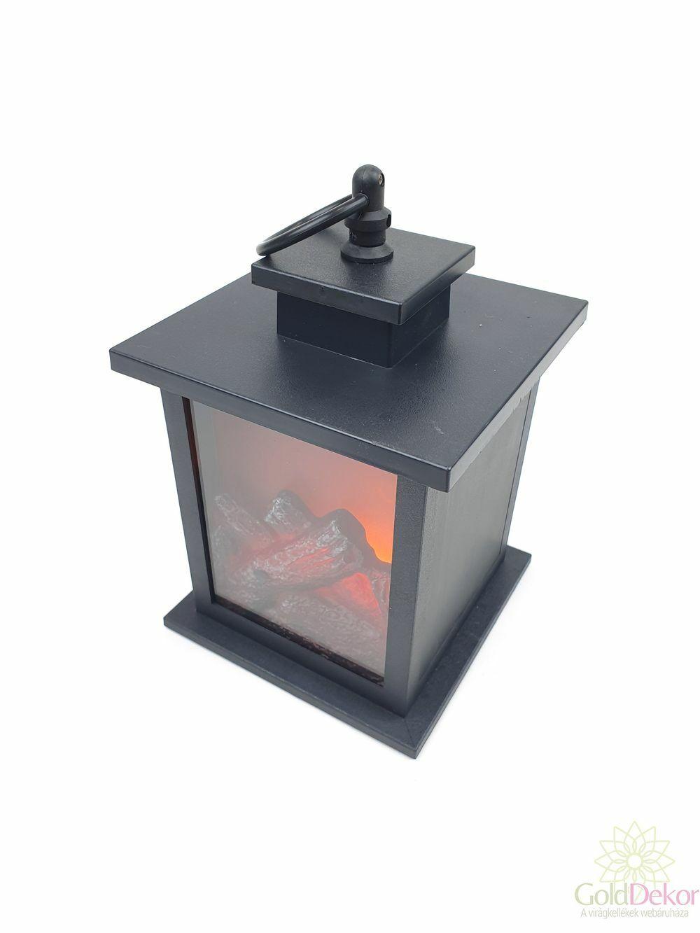 Led hátfalas lámpás - Kocka