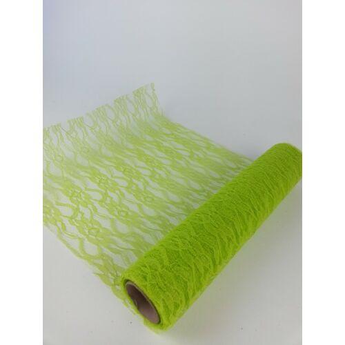 Csipke háló 29 cm- Zöld