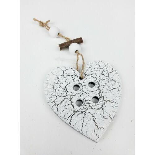 Repedezett fa szív