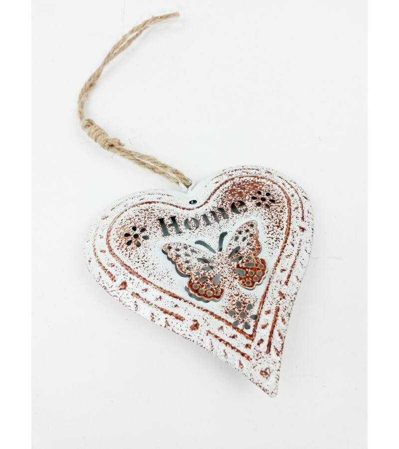 Antikolt fém szív