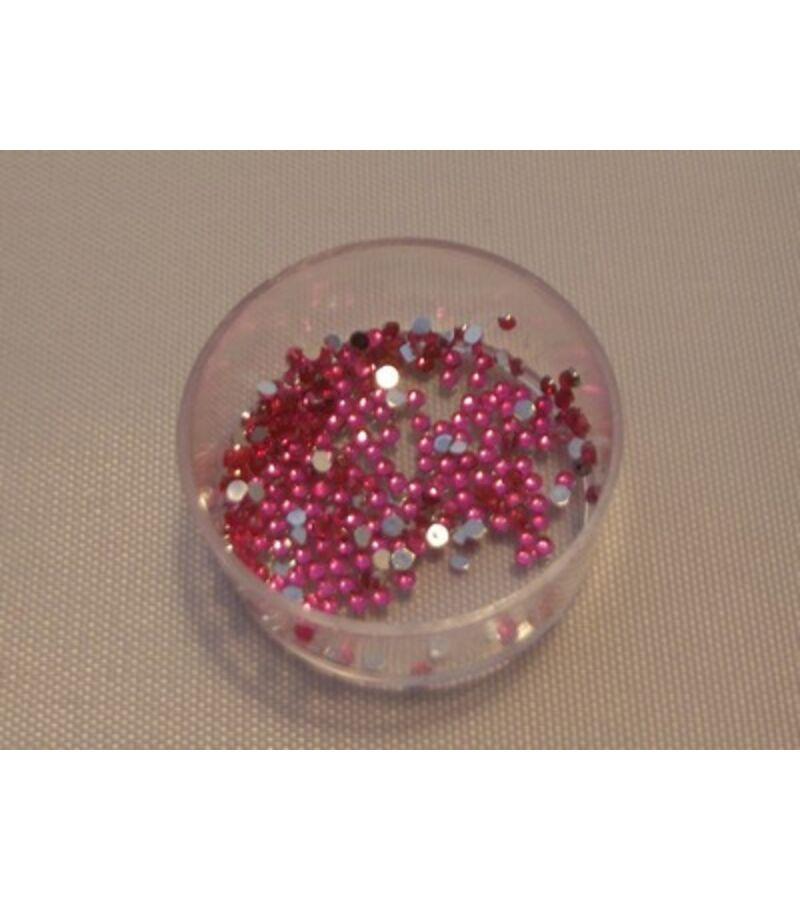 1,5mm-es strasszkő - PINK