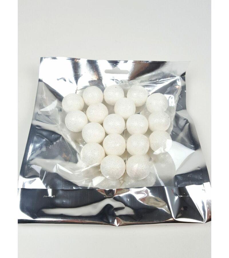 Ezüst csomagos hógolyó
