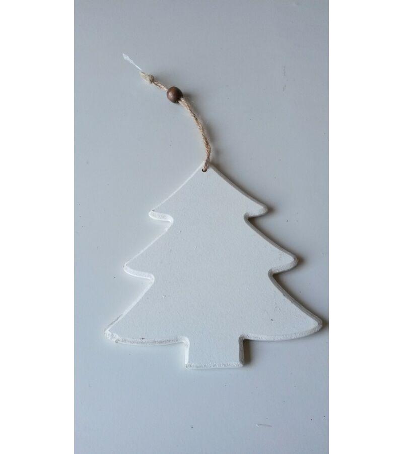 Akasztós rusztikus fehér fenyőfa