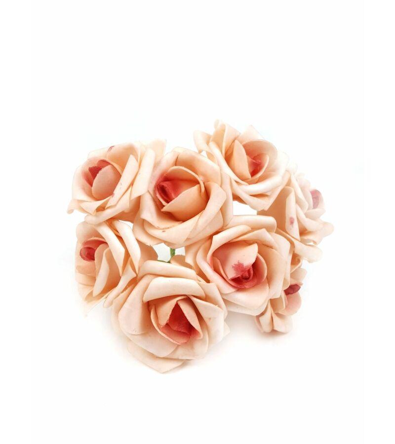 Drótos polyfoam rózsa 22 - Rozsda