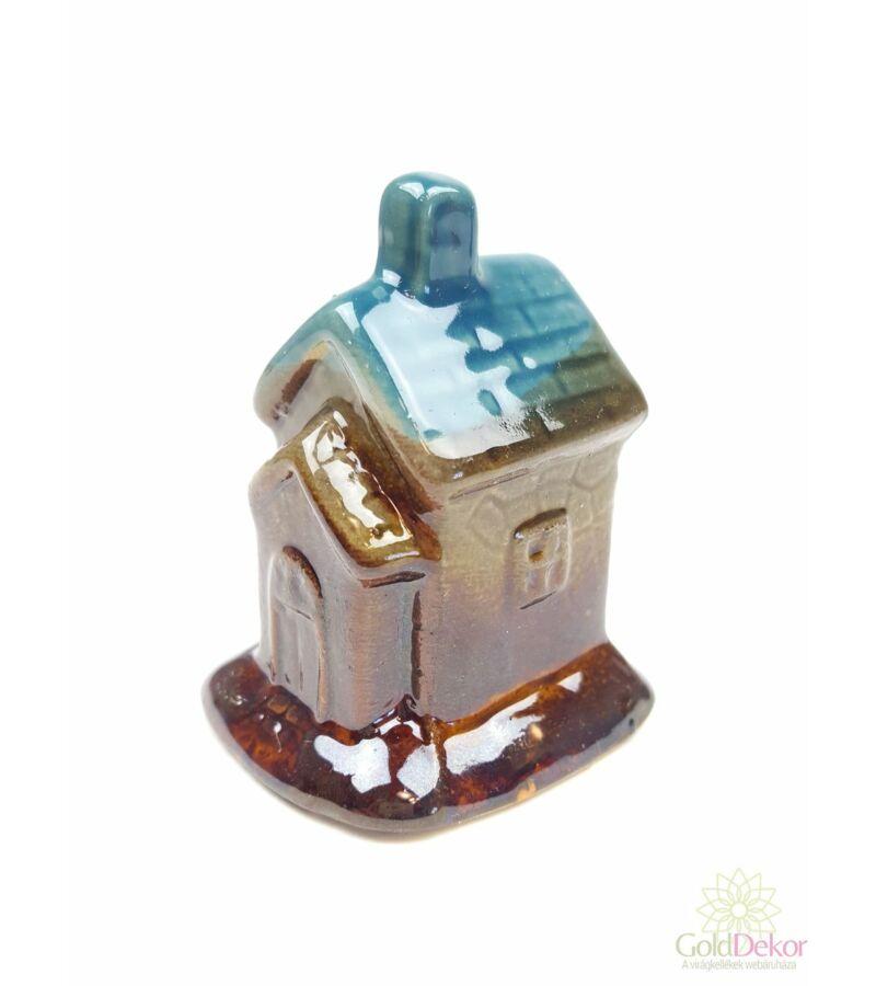 Kerámia házikó - Kék