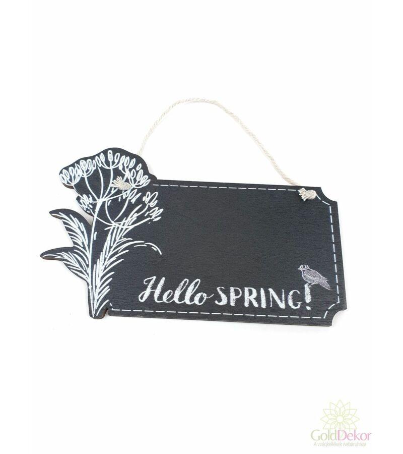 """Hello Spring"" tábla"