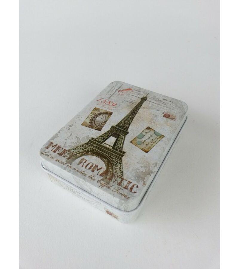 Mintás doboz kicsi-Eiffel Torony