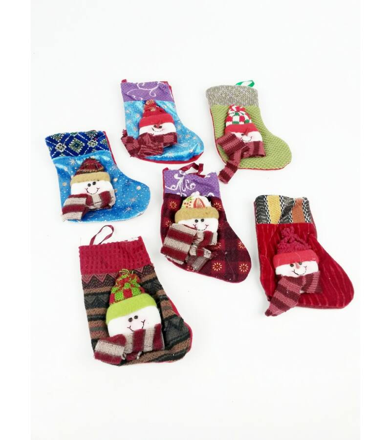 Karácsonyi zokni MIX