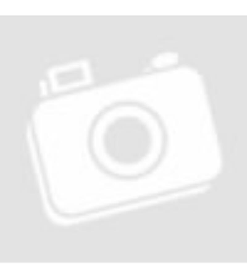 Fa ház girland virággal - Sötét barna