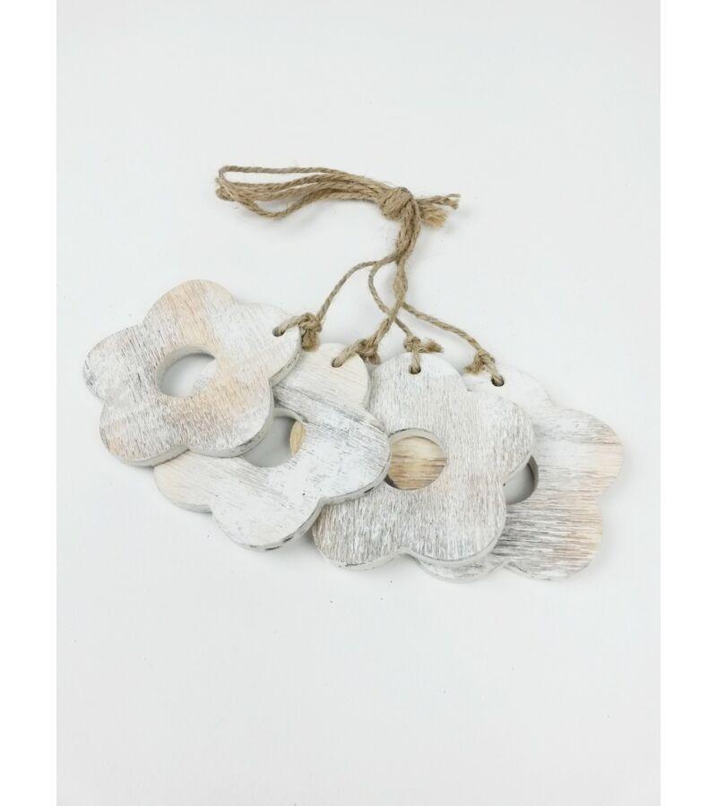 Zsinóros hamvas, koptatott virág
