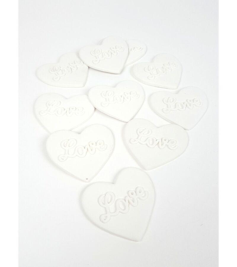 Polyresin szív - Love