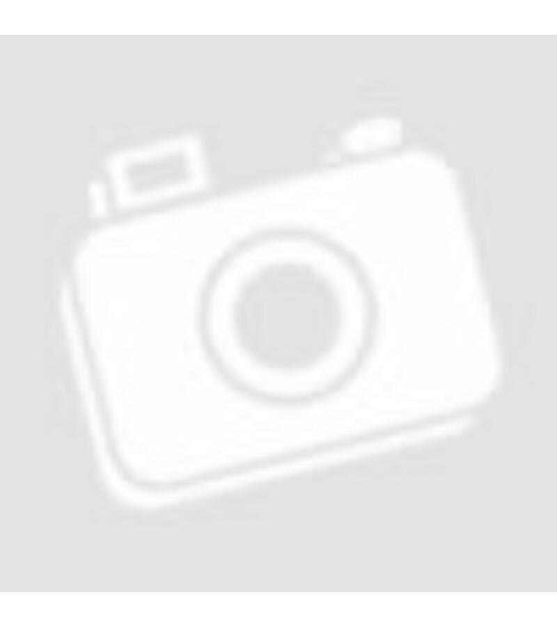 Csipkézett fém szív csengővel - Virág