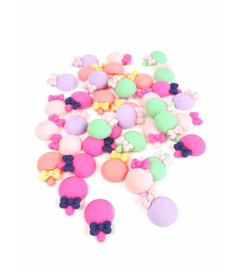 Műanyag dekor - Gömb nyalóka