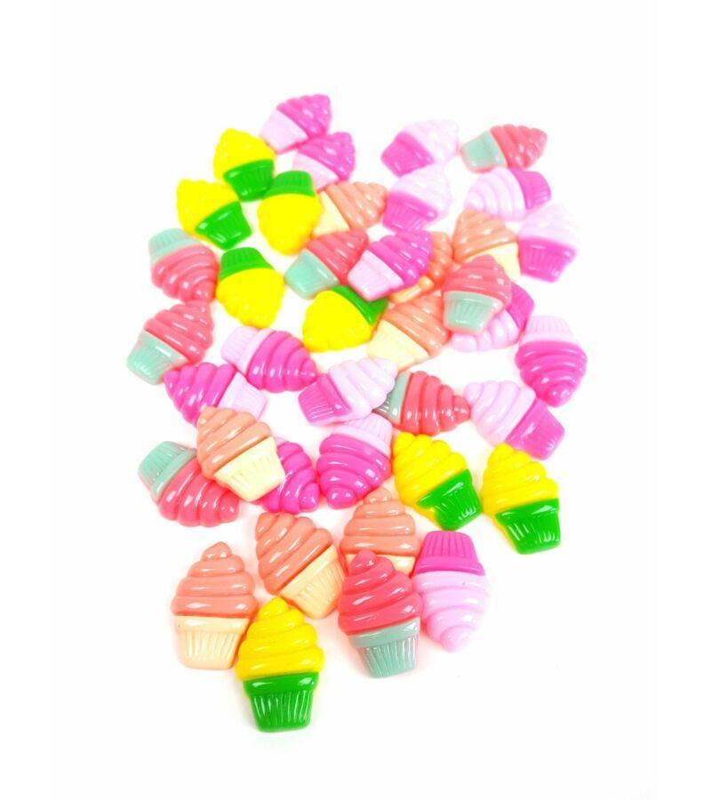 Műanyag dekor - Csavaros fagyi