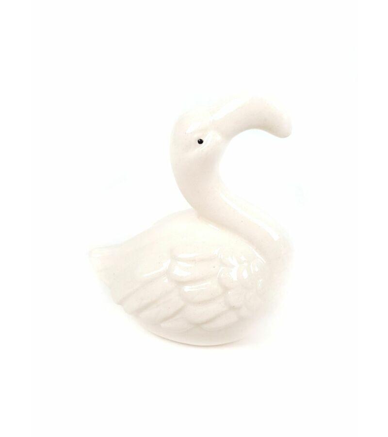 Kerámia flamingó - Fehér