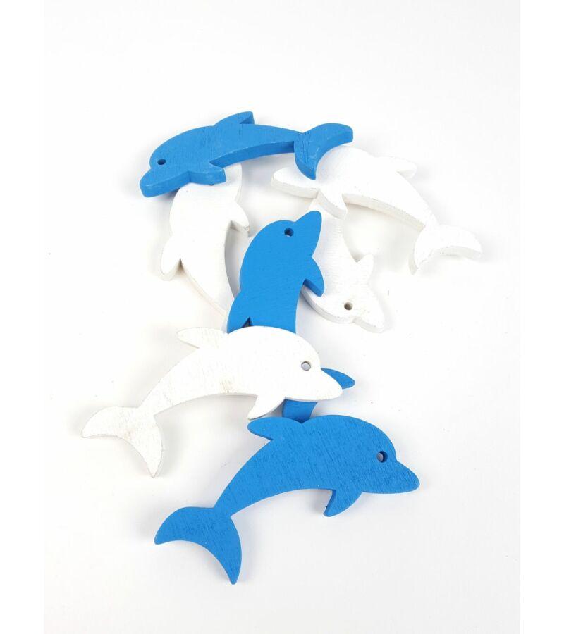 Fa dekor delfin - MIX