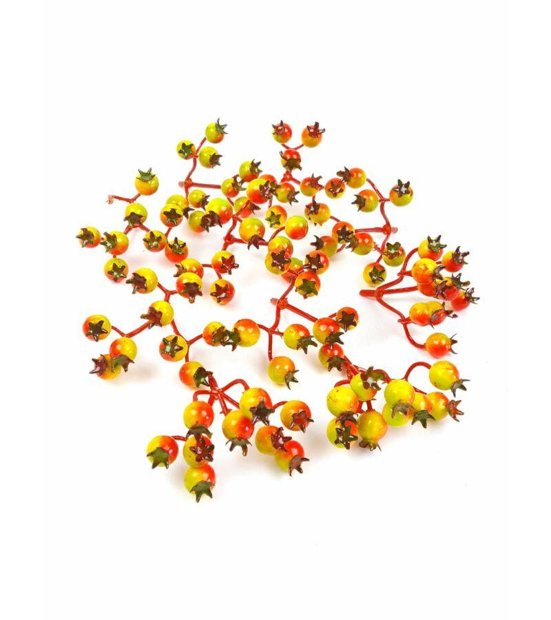 Őszi színű fürt csipkebogyó