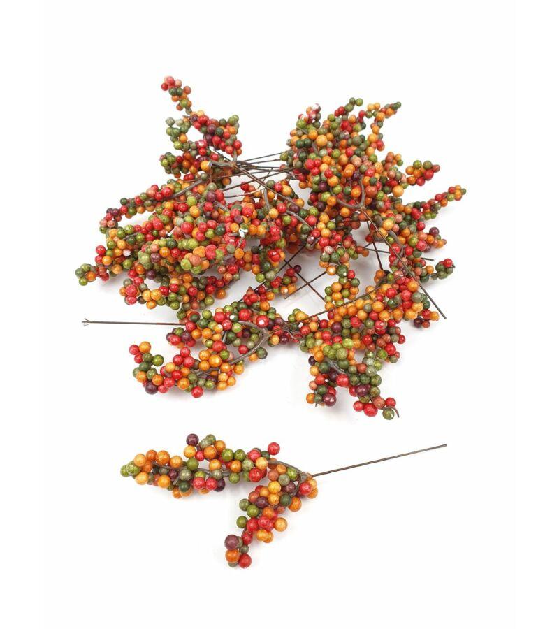 Őszi pálcás bogyó - Sárga-zöld-bordó