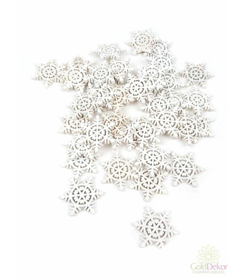Apró fa dekor hópihe A