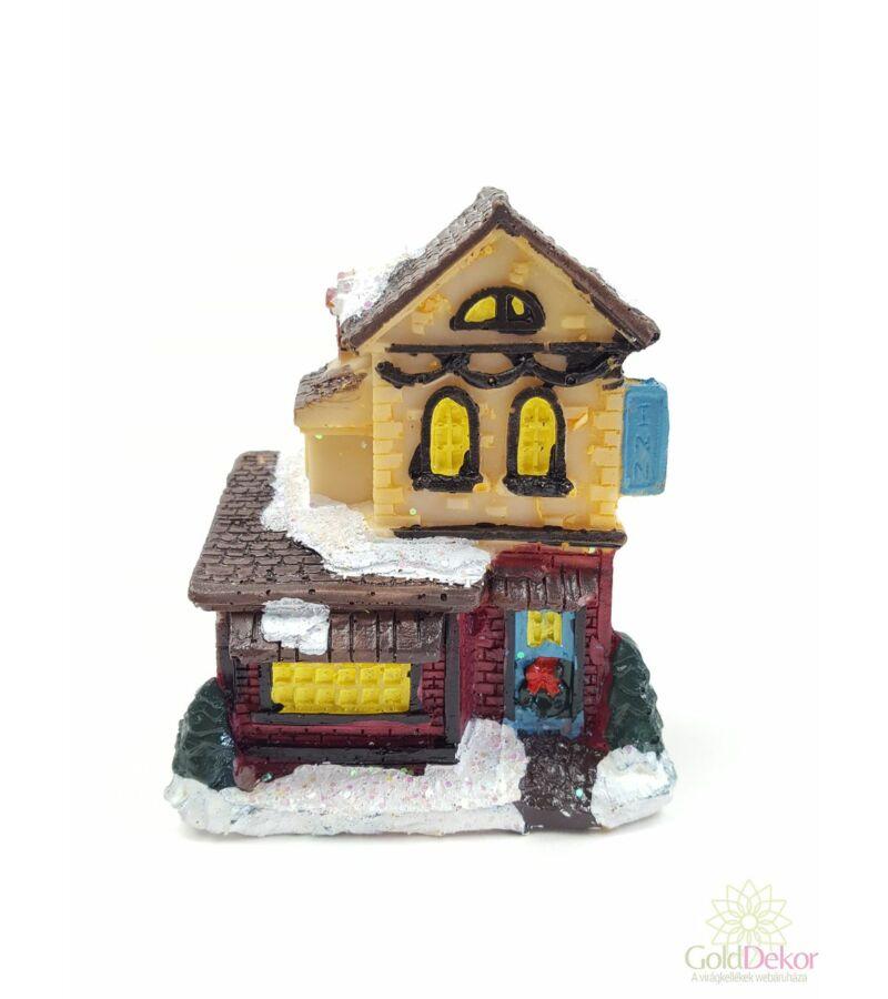 Karácsonyi házikó kicsi 5
