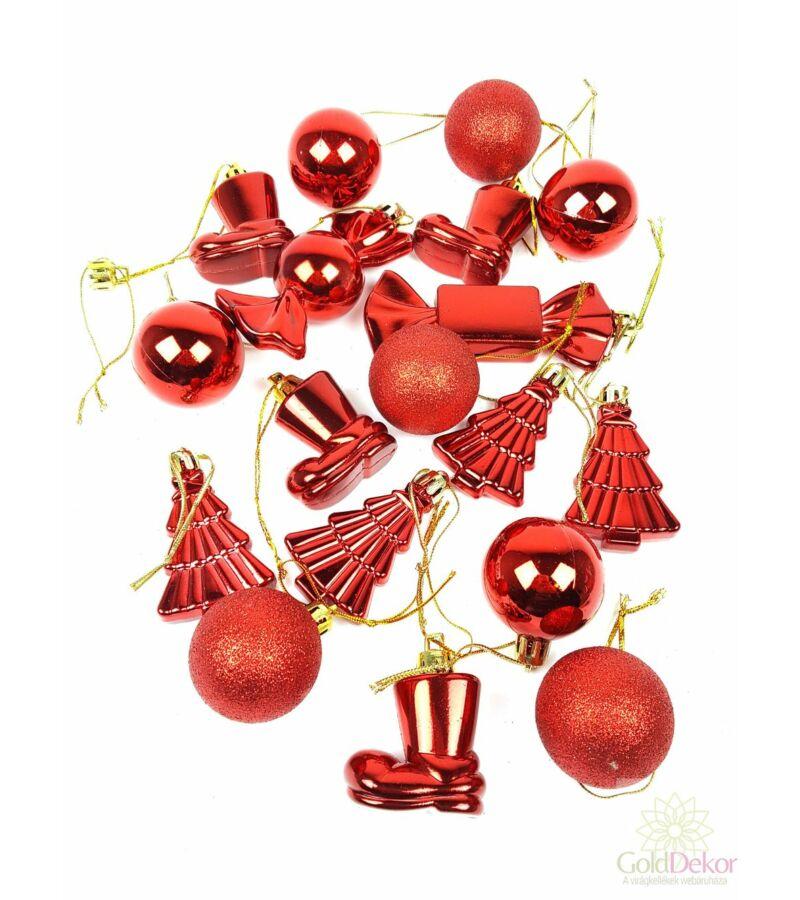 Karácsonyi fa dísz szett