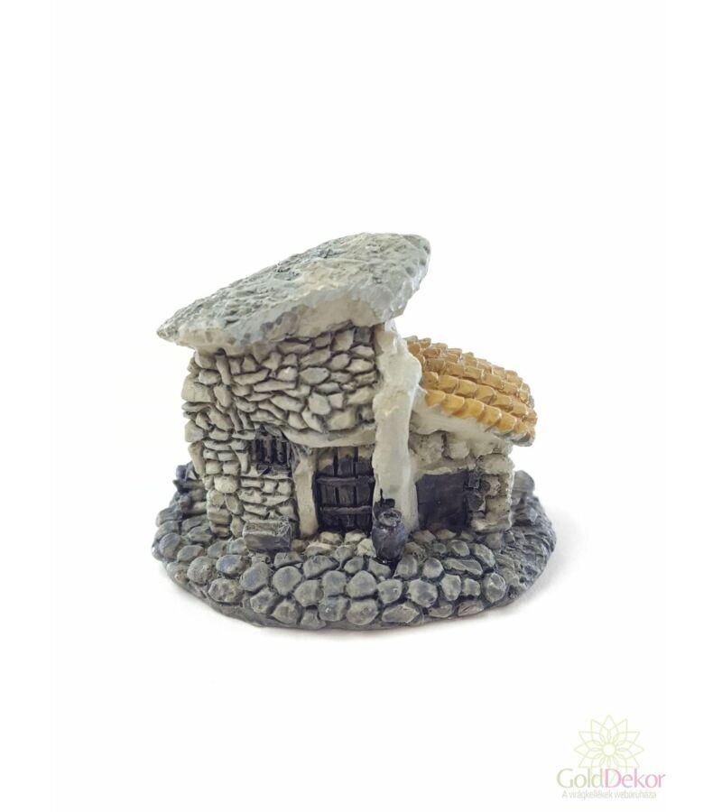 Kőház cseréptetős - Szürke