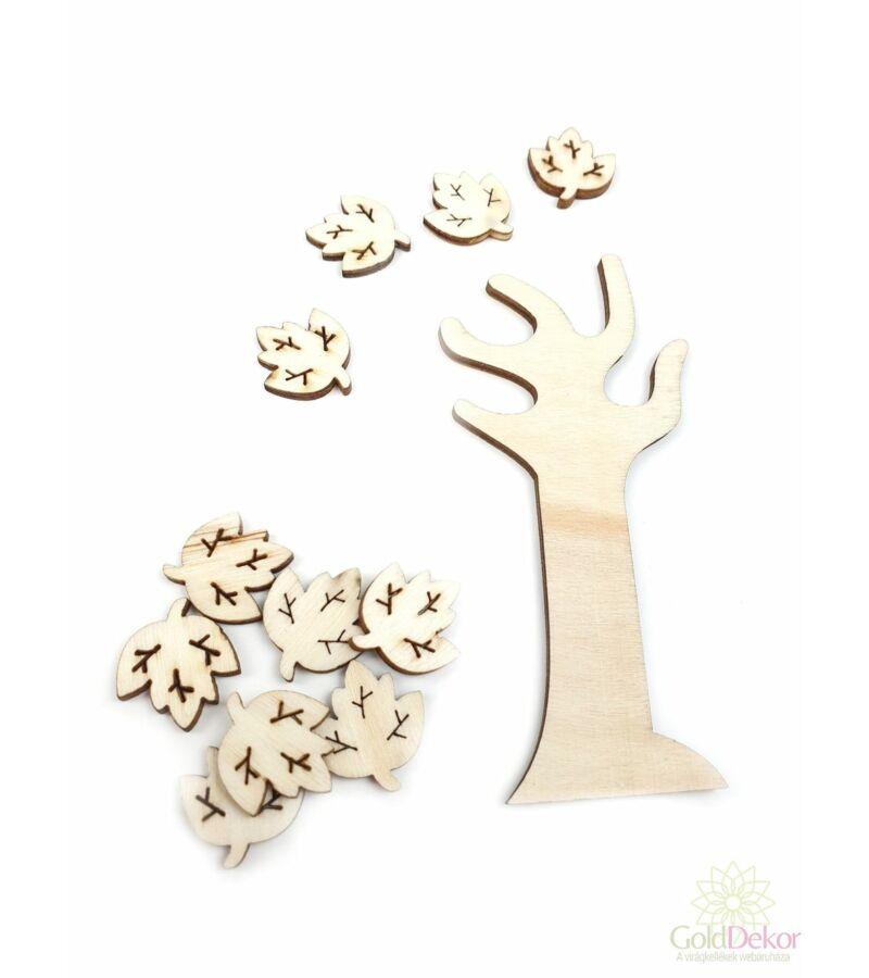 Natúr leveles fa szett 2