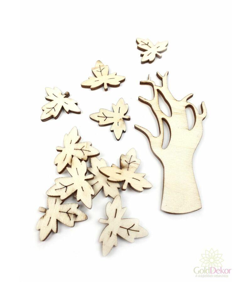 Natúr leveles fa szett 1